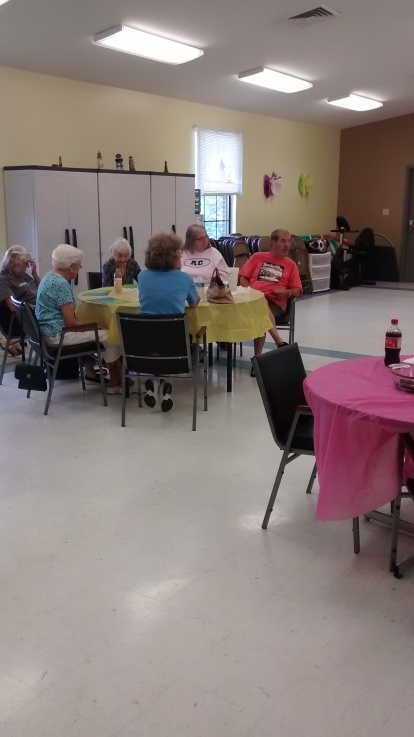 Bingo at Senior Center