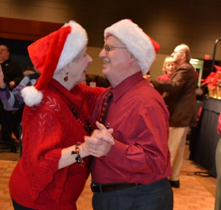 Bob and Marla Christmas Dance